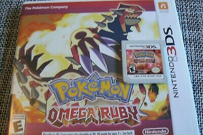 $25 • Buy Pokemon Omega Ruby 3DS Game- Not Working- Read Description