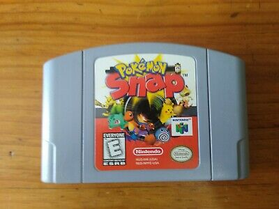 $10.80 • Buy Pokemon Snap N64 Authentic Nintendo 64 Great Condition Cleaned Tested Works