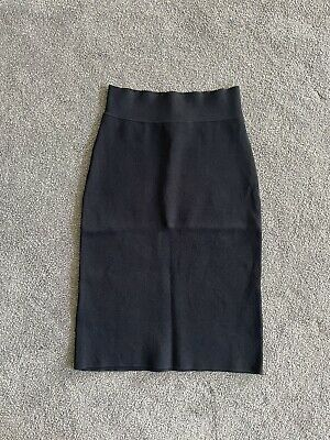 AU100 • Buy Scanlan Theodore Crepe Knit Skirt Black Size Small