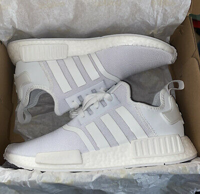 AU110 • Buy Mend ADIDAS NMD Triple White. Size: US 10,   BRAND NEW IN BOX