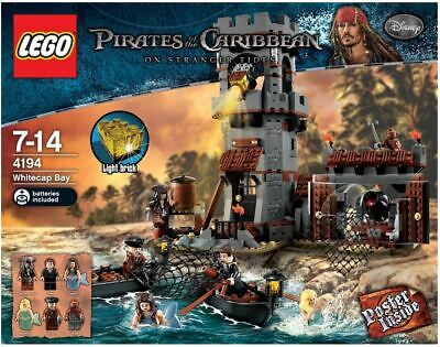 £140 • Buy Lego Pirates Of The Caribbean 4194 White Cap Bay NEW