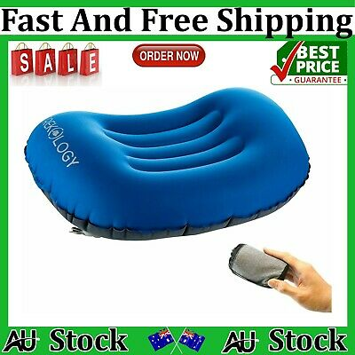 AU23.75 • Buy TREKOLOGY Ultralight Inflatable Camping Travel Pillow ALUFT 2.0 Compressible-AU