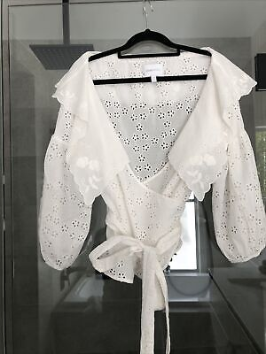 AU35 • Buy Alice Mccall Offwhite Wilde Grotto Top Size 14