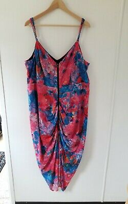AU14.95 • Buy City Chic Womens Plus Size L 20 22 Dress Midi Fitted Great Colours Ex.Cond