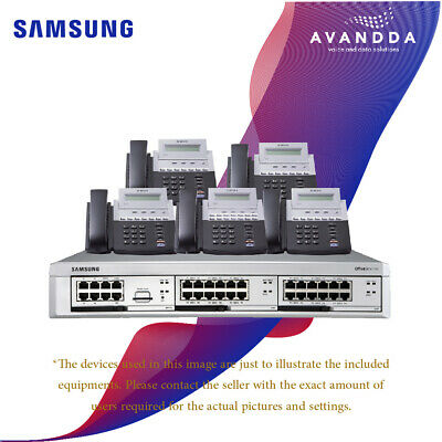 £175 • Buy PBX Telephone System For 5 Users - Refurbished Samsung Telephone System