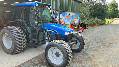 £11995 • Buy TN55S New Holland Compact Tractor