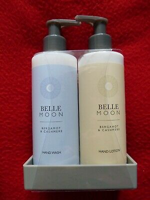 £10 • Buy Belle Moon – Bergamot And Cashmere Hand Wash And Lotion Duo Set BNIW