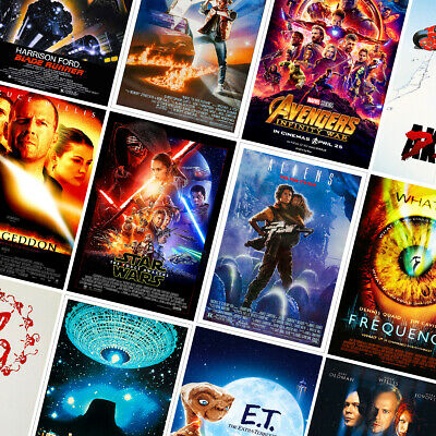 £1.99 • Buy Sci-fi Movie Posters - Classic Prints - A4 A3 A2 - Home Decor Wall Art - Part 1
