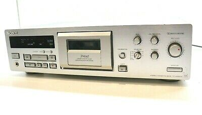£399 • Buy SONY TC-KB920QS QS RANGE 3 Head Dolby S Cassette Deck In SILVER  **SERVICED**