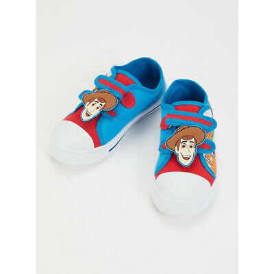 £9.99 • Buy Disney Toy Story Woody Canvas Pumps/Trainers Size 10 Unisex - New