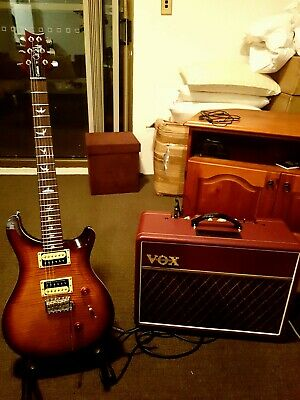 AU599 • Buy Vox Ac10c1 Limited Edition Maroon Bronco All Tube Electric Guitar Amp Combo