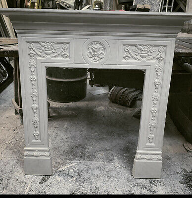 £220 • Buy The Camden Fire Surround In Plaster - Buckinghamshire Collection