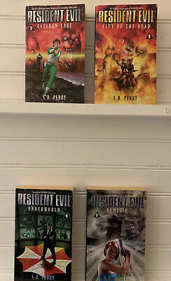 AU49.26 • Buy Resident Evil S.D Perry Book Lot Of 4 2-5