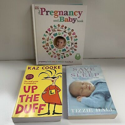 AU29 • Buy Pregnancy And Baby Books Bundle- Save Our Sleep, Up The Duff, Pregnancy Book
