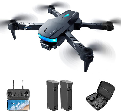 AU87.90 • Buy Drones With Camera For Adults 4k,Foldable Remote Control Quadcopter,Wifi Real-ti
