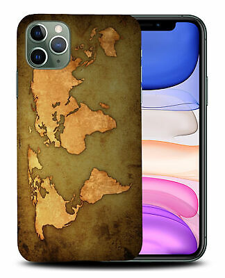 £5.14 • Buy Case Cover For Apple Iphone vintage World Map Geography #1