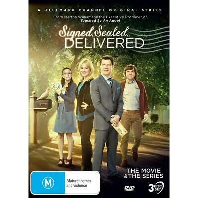 AU46.59 • Buy SIGNED SEALED DELIVERED The Movie & Series NEW (USA Compatible)