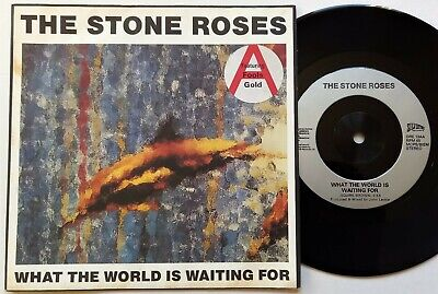 £7.99 • Buy The Stone Roses - What The World Is Waiting For / Fools Gold 4.15 7  Single 1989
