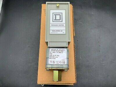 AU168.36 • Buy Square D Pressure Switch 9012 GNG-4, 1.5-75 Psig
