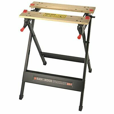 AU64.36 • Buy BLACK+DECKER Workmate, Work Bench Tool Stand Saw Horse Dual Clamping Crank,