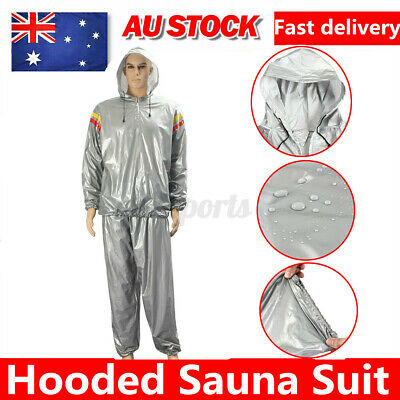 AU15.99 • Buy 2XL Heavy Duty Sweat Sauna Suit Gym Fitness Exercise Fat Burn Weight Loss Soft