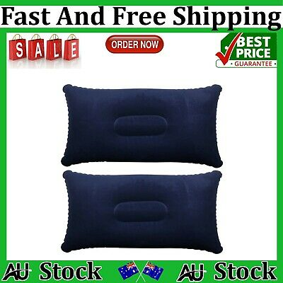 AU13.75 • Buy TRIXES Inflatable Pillow For Travel Or Camping - Blow Up Pillow- Pack-2