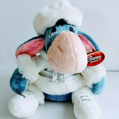 """£15.97 • Buy Disney Store Exclusive Eeyore Winter Outfit Stamped Plush Soft Toy   12"""""""