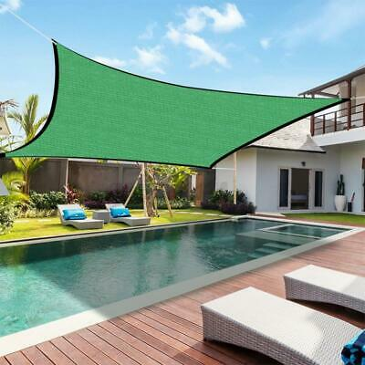 AU34.99 • Buy Extra Heavy Duty Sun Shade Sail 300D Square Rectangle Sand Swimming Pool Garden
