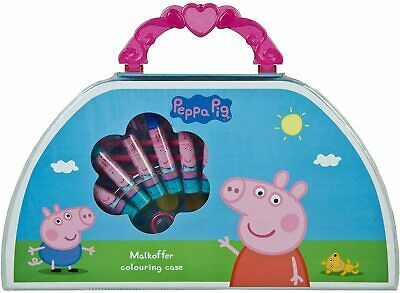 £12.99 • Buy Peppa Pig Art, Drawing Colouring Activity 50 Pcs Gift Set For Kids Children