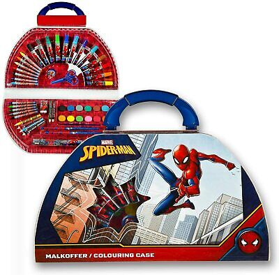 £13.99 • Buy Spiderman Art, Drawing Colouring Activity 50 Pcs Gift Set For Kids Children