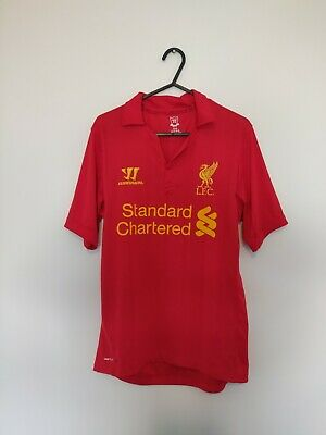 £21.99 • Buy Liverpool Home Football Shirt Mens Small 2012 2013 Red Warrior