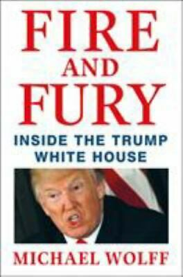 AU2.76 • Buy Fire And Fury : Inside The Trump White House By Michael Wolff (HC/DJ)