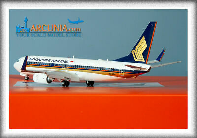 AU162.49 • Buy JC Wings 1:200 Singapore Airlines Boeing 737-800w  9V-MGA  Flaps Down EW2738015A