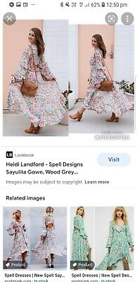 AU95 • Buy Spell Sayulita Gown Size S