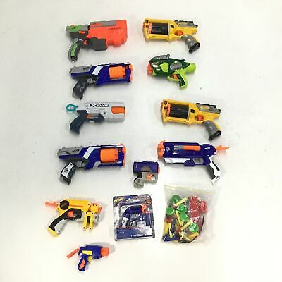 AU12.50 • Buy Assorted Bulk Nerf Toys Untested Parts Only & Accessories #305
