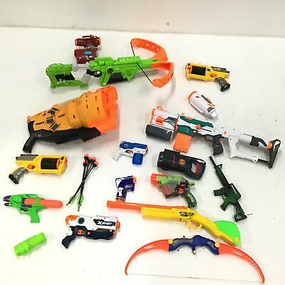 AU22.50 • Buy Assorted Bulk Nerf Toys Untested Parts Only & Accessories #327