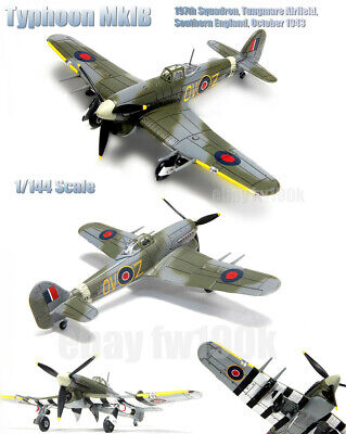 AU24.18 • Buy F-TOYS 1/144 Wingkit 2 Typhoon MkIB 197th Squadron, Tungmare Airfield, Southern