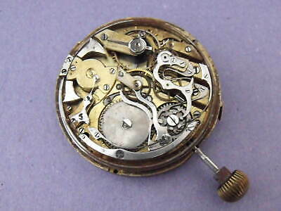 £699 • Buy Rare Moonphase, Calendar, Minute Repeater Pocket Watch Movement - Good Balance