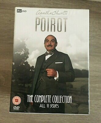£30 • Buy Agatha Christie's POIROT  - The Complete Collection - All 11 Series