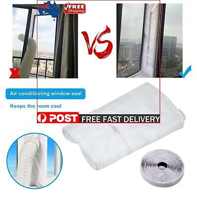 AU23.29 • Buy Window Seal - 400cm Window Seal For Portable Air Conditioner Hose (White)