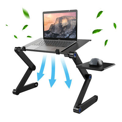 £11.99 • Buy Adjustable Portable Laptop Stand Lazy Lap Sofa Bed PC Notebook Desk Table Tray