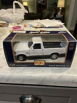 AU18.18 • Buy Maisto Special Edition Ford F-150 Pickup (1993) White 1/24