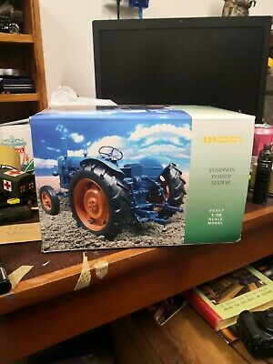 £65 • Buy UH 1/16 Scale Fordson Power Major 1958 Blue / Orange Diecast Model Tractor 2640