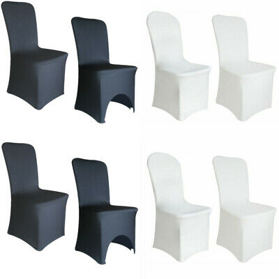 £21.99 • Buy 5-100 Spandex Chair Covers Slip Seat Cover Stretch Removable Wedding Dining Room