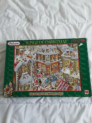 £4 • Buy Falcon  1000 Piece Jigsaw Puzzle  SONG OF CHRISTMAS