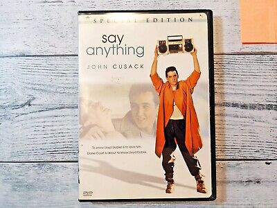 AU8 • Buy Say Anything (DVD, 2002, Special Edition) John Cusack, Ione Skye