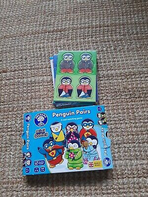 £1.30 • Buy Penguin Pairs Orchard Toys Mini Matching Game
