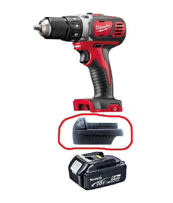 AU45 • Buy Milwaukee Tools Battery Adapter To Use Makita 18V Battery To Use M18 Tools *New*