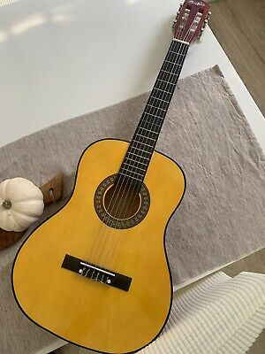 £20 • Buy Music Alley 34 Inch Classical Junior Wood Acoustic Guitar Children's Kids Used
