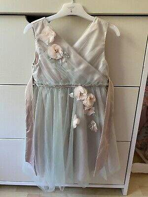 £25 • Buy Monsoon Girls Occasion Dress (flower Girl, Wedding, Party, Bridesmade) Age 6